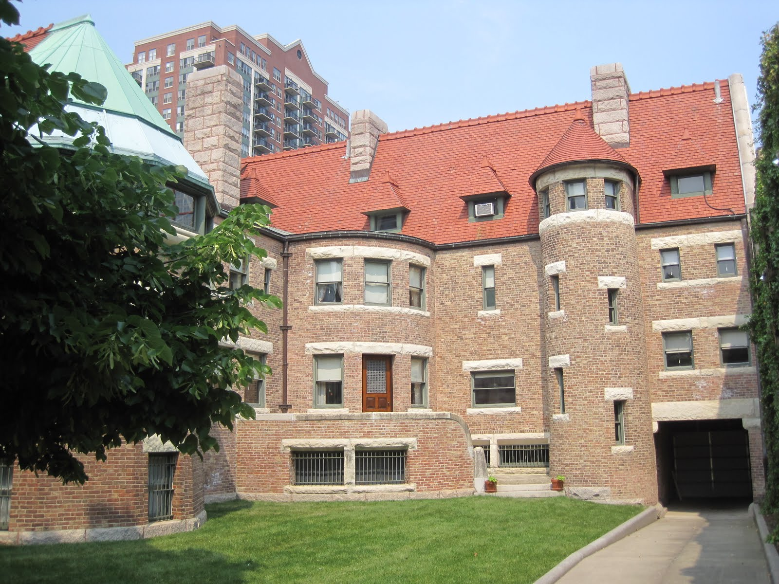 Chicagotown s historical points of interest universal for Glessner house