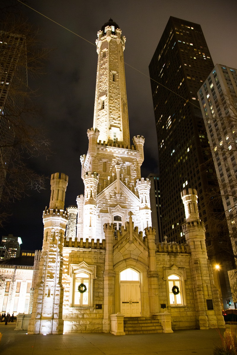 chicago water tower the first american water landmark Familiar cook house designated libertyville's first landmark  cook was a masonry contractor who worked on the old chicago water works (water tower) and the libertyville town hall (american .